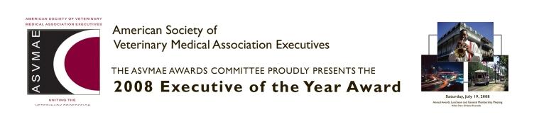 ASVMAE Award